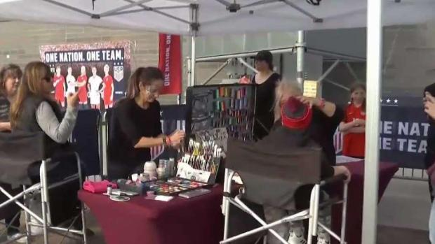 [TLMD - Denver] Así está el ambiente en el estadio Dick's para el duelo de las selecciones femeninas de EEUU y Australia