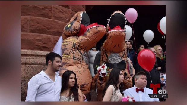 [TLMD - SA] Dinosaurios se casan en boda masiva