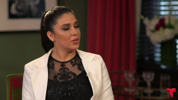 Emma Coronel habla en exclusiva con Telemundo