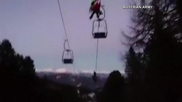 [TLMD - Bahia] Rescatan en helicóptero a 150 esquiadores