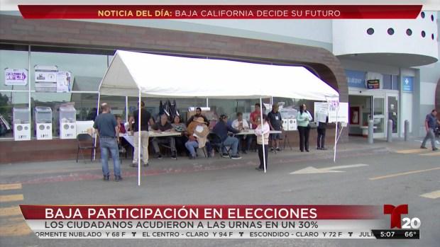[TLMD - SD] Gana el abstencionismo en Baja California