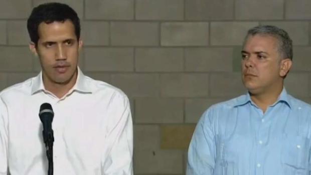 [TLMD - MIA] Guaidó pide mantener todas las opciones sobre la mesa tras violenta jornada en frontera