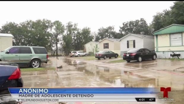 [TLMD - Houston] Habla madre de adolescente hispano acusado de homicidio