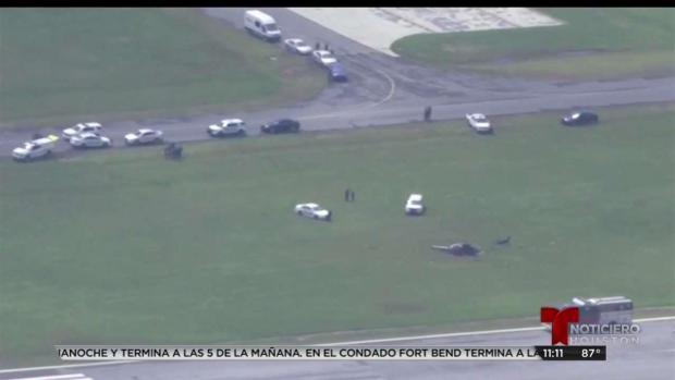 [TLMD - LV] Helicóptero se estrella y se parte en dos