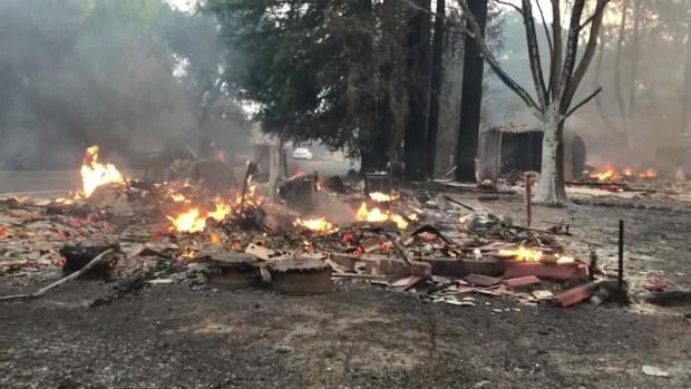 [TLMD - NAT] Incendios en California: millones quedarán sin luz