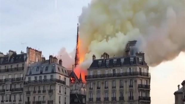 [TLMD - SD] Catasfróficas imágenes del incendio en la catedral de Notre Dame