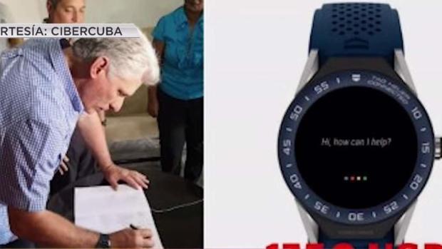 [TLMD - MIA] Polémica por costoso reloj de Díaz-Canel y gafas de marca de Raúl Castro