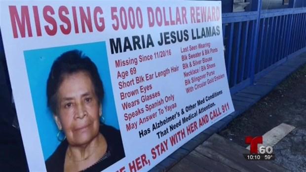 [TLMD - SA] Familiares de anciana desaparecida piden un milagro a la Virgen de Guadalupe