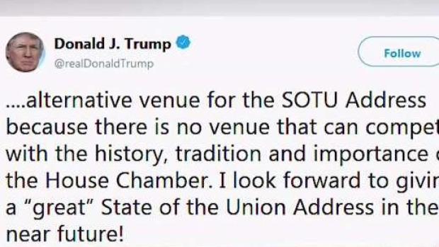 [TLMD - LV] Trump pospone discurso del Estado de la Unión