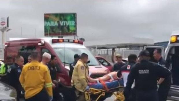 [TLMD - SD] Arrestan a conductor tras persecución en la frontera