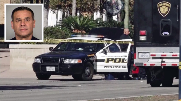 Arrestan a sospechoso de acribillar a policía en su patrulla