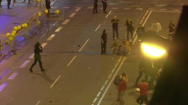 [TLMD - LV] Represión policial durante las marchas en Barcelona
