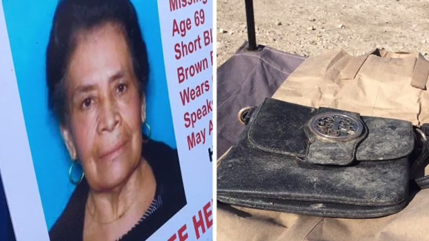 [TLMD - SA] Encuentran bolso de anciana desaparecida