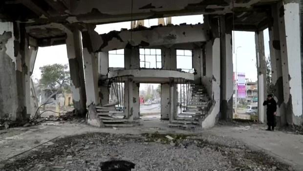 """[TLMD - LV] Vivir entre las ruinas de la antigua """"capital"""" de ISIS en Siria"""