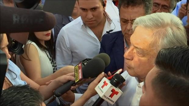 Desde Phoenix, AMLO vaticinaba su triunfo electoral