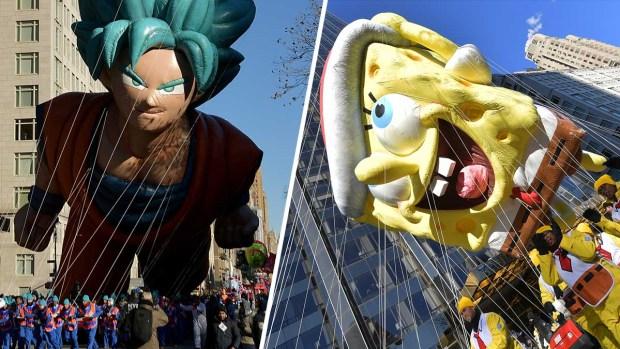 Fotos: toda la magia del desfile de Macy's en Nueva York
