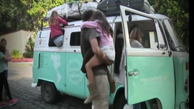 Familia argentina viaja en furgoneta para ver al Papa