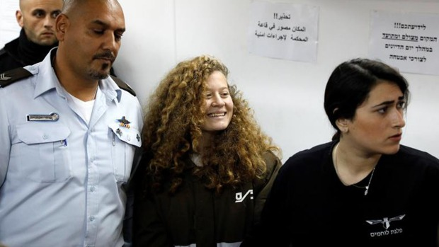Niegan fianza a joven palestina arrestada