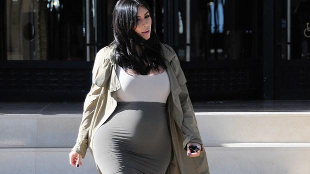 Fotos: Kim Kardashian exhibe sus enormes caderas