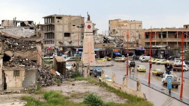[TLMD - NATL] La plaza donde el Estado Islámico cometía sus horrores