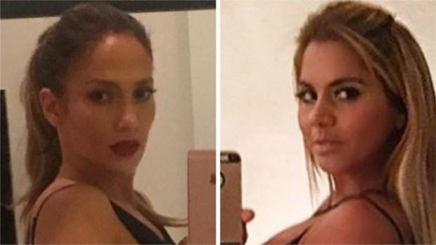Maripily trata de imitar el sexy selfie de Jennifer López