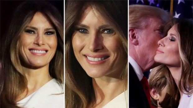 Melania Trump se convierte en Primera Dama con vestido de $4,000