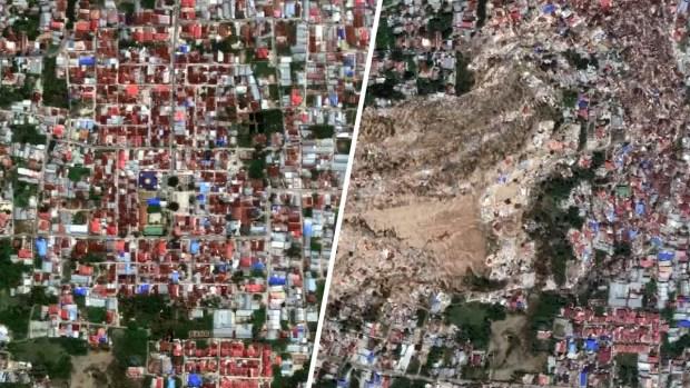 [TLMD - LV] Fotos de satélite muestran la devastación por el terremoto y tsunami