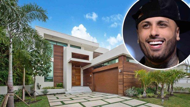 Por dentro: la espectacular mansión de Nicky Jam