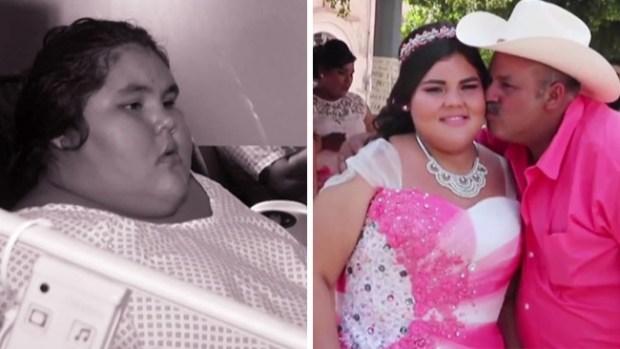 """De la """"más obesa del mundo"""" a hermosa quinceañera"""
