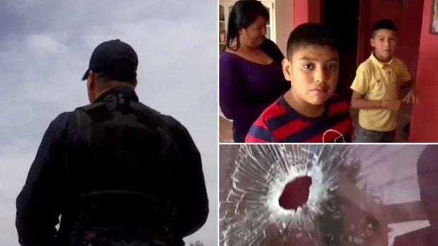 Pueblo mexicano queda hueco por la violencia