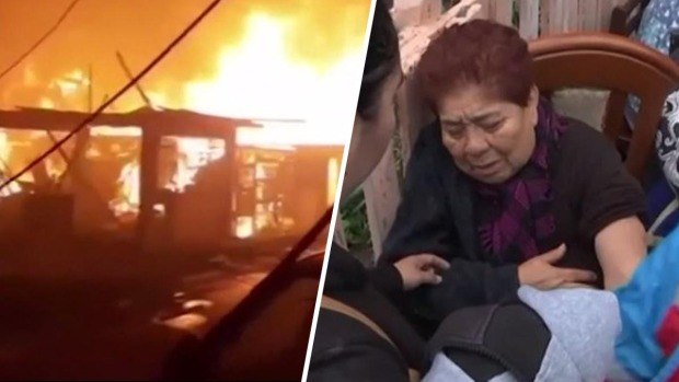 Incendio se propaga rápidamente y destruye 200 hogares en Perú