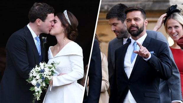 ¡Sorpresa! ¿Qué hace Ricky Martin en la boda real?
