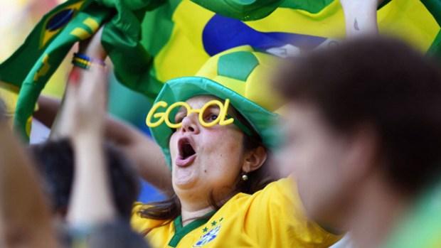 Video: Fiebre del Mundial se apodera de Brasil