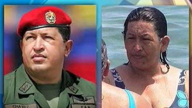 Video: Mujer idéntica a Chávez desata revuelo