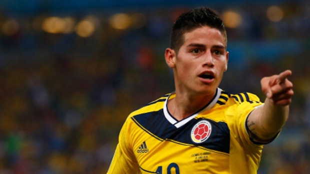 Video: James Rodríguez se desata con un baile
