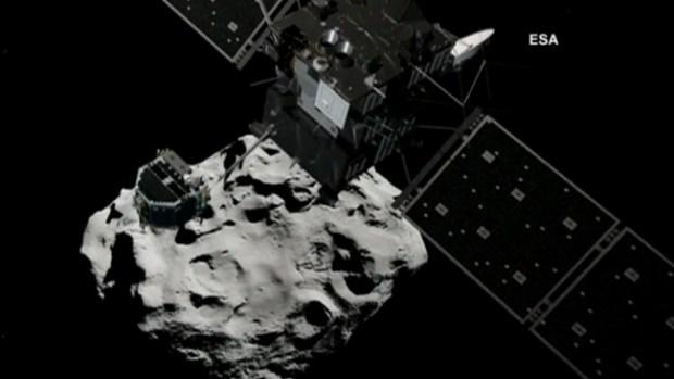 Video: Preparan aterrizaje de robot en cometa