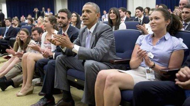 Video: Mundial: Obama, el mejor fan de EEUU