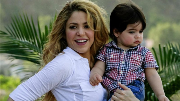 Video: Padres de Shakira revelan sexo del bebé
