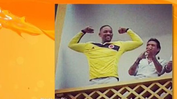 Video: Will Smith enloquece a Colombia