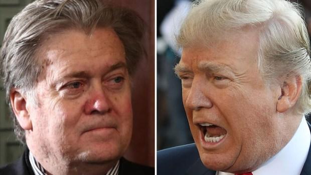 Bannon, el exestratega que ahora enfurece a Trump