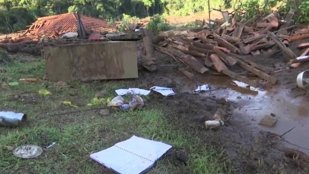 [TLMD - LV] Video muestra momento del colapso de dique en Brumandinho