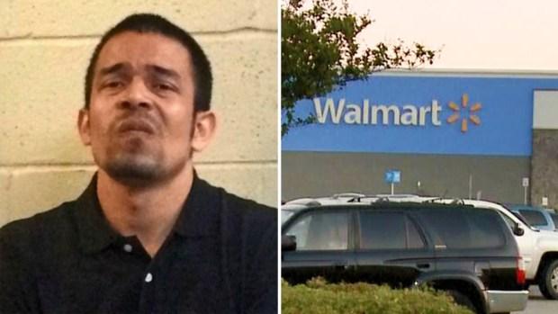 Policía: a machetazos trata de llevarse niños de Walmart