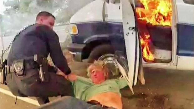 [TLMD - Bahia] Salvan a hombre de morir quemado en San José