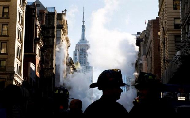 Dramáticas imágenes de la explosión en Manhattan