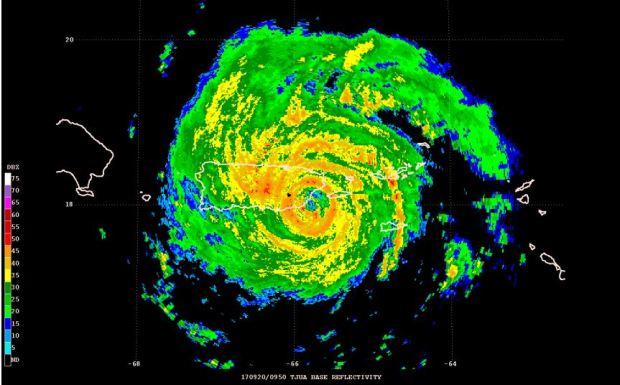 Informe oficial sobre el huracán María