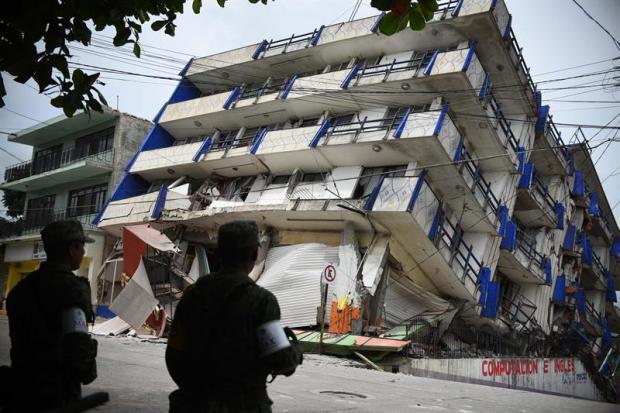 Galería: Potente terremoto sacude parte de México