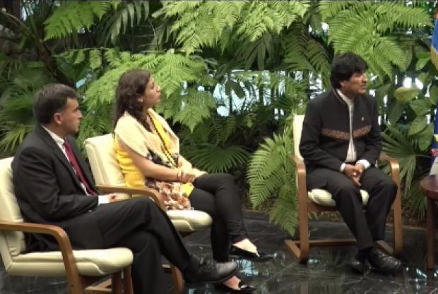 [TLMD - MIA] Evo Morales de visita en La Habana