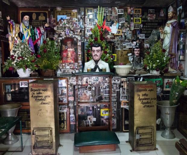 Conoce a Malverde, el santo patrono de los narcos