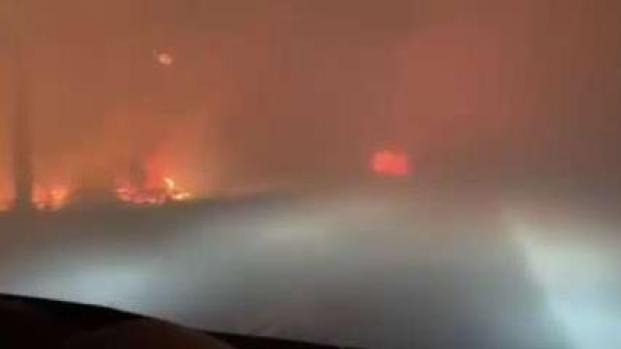 [TLMD - LV] Atrapados por las llamas: se salvan de morir en voraz incendio