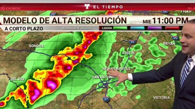 [TLMD - SA] Aumenta riesgo de tormentas severas en el condado Bexar